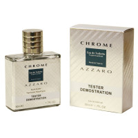 "Тестер Azzaro ""​Chrome"" edp for men, 50ml ОАЭ"