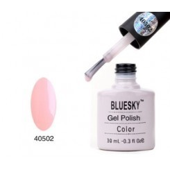80502 Bluesky Gel Polish 40502 - NEGLIGEE / FRENCH PINK 10ML