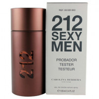 "Тестер Carolina Herrera ""212 Sexy Men"" 100ml"
